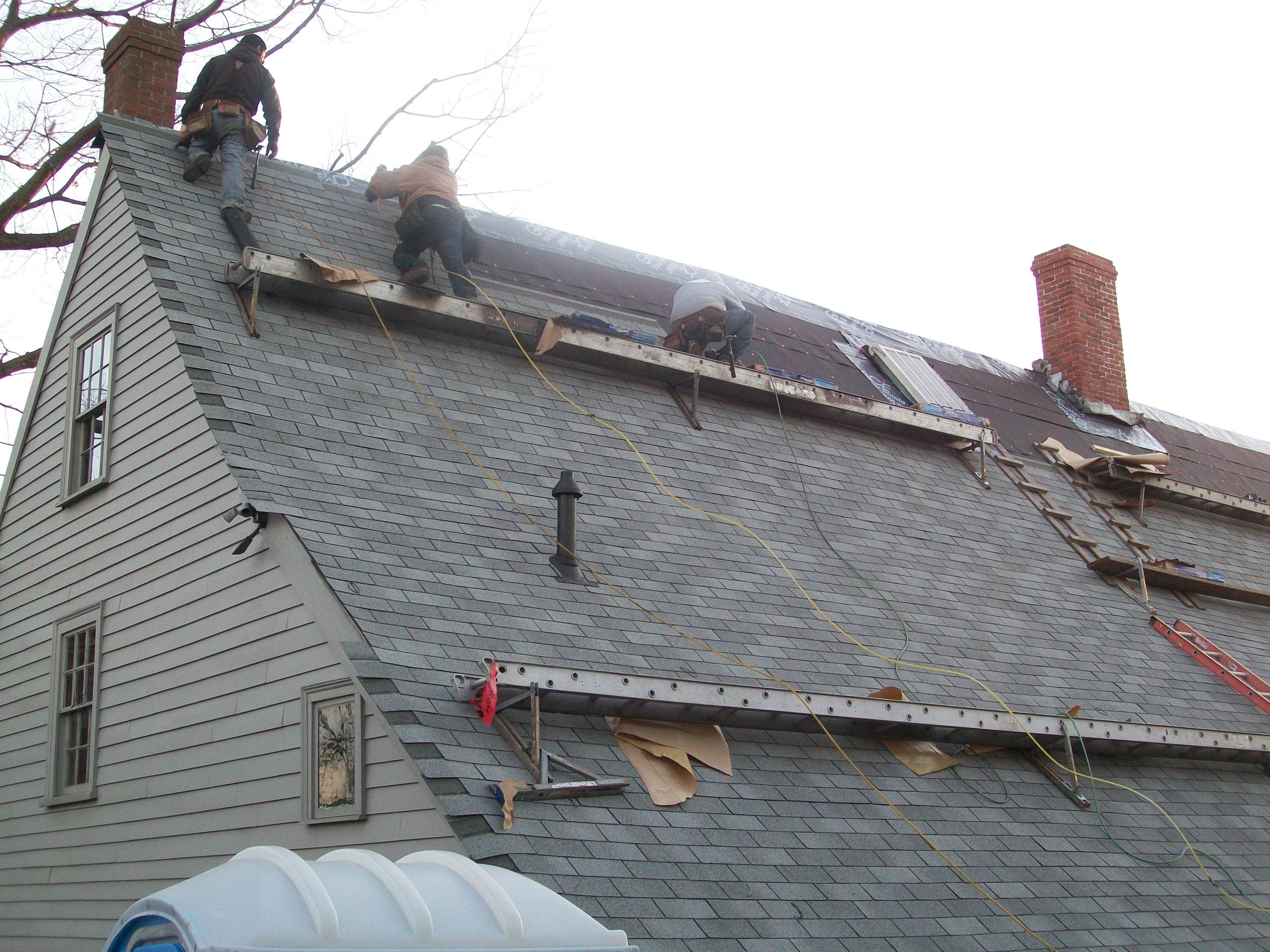Shingle Roofing Newton Wellesley Weston Brookline Sudbury