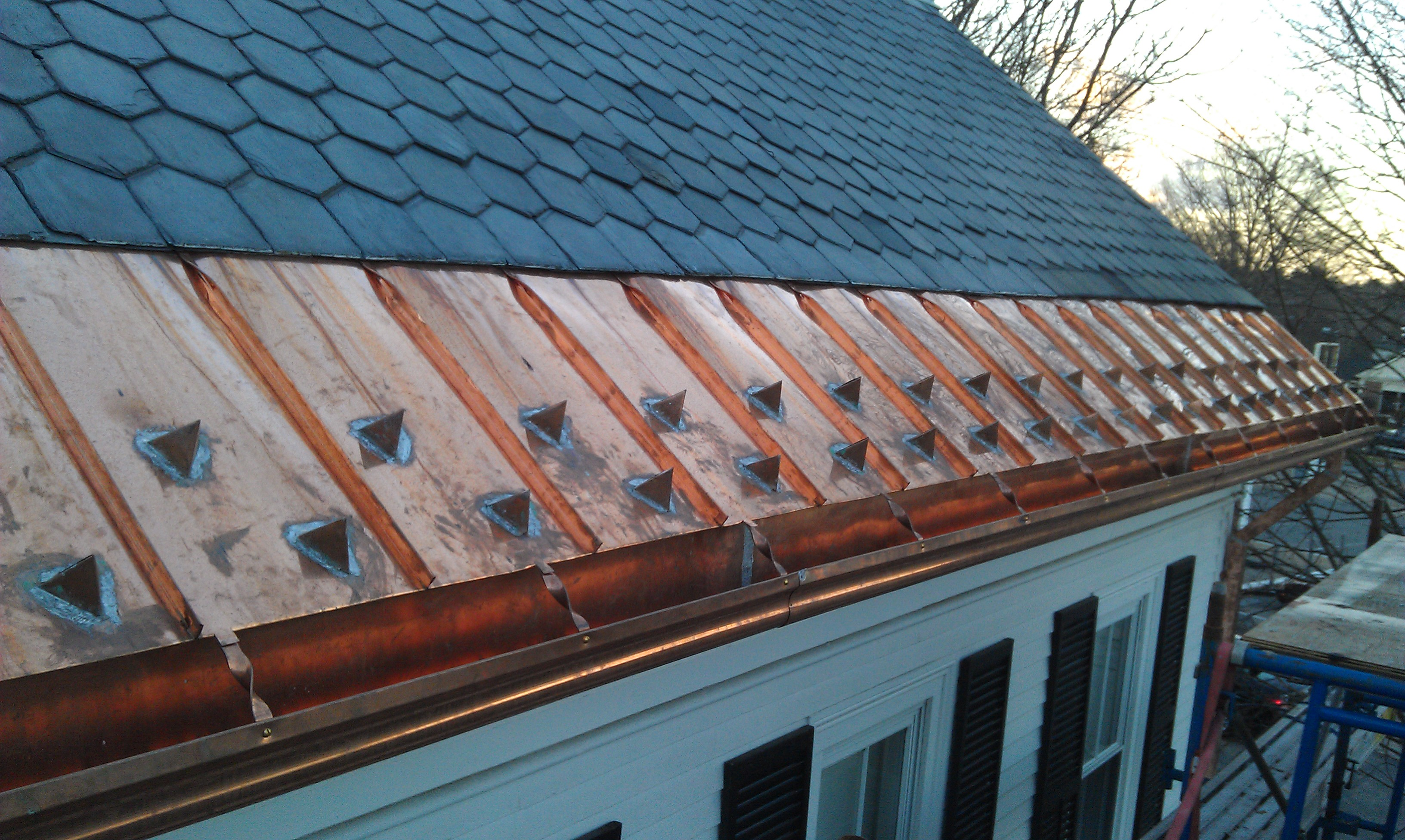 Copper Roofing Newton Wellesley Weston Sudbury Brookline