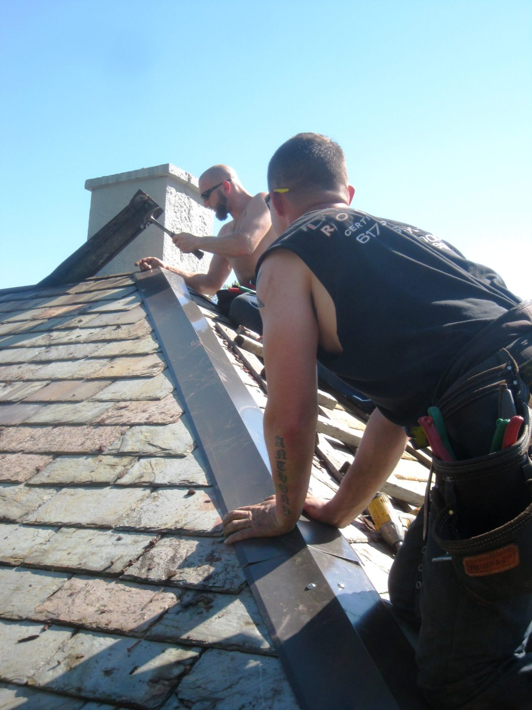 Landmark Roofing Installs The Best And Fixes The Rest Hip Caps