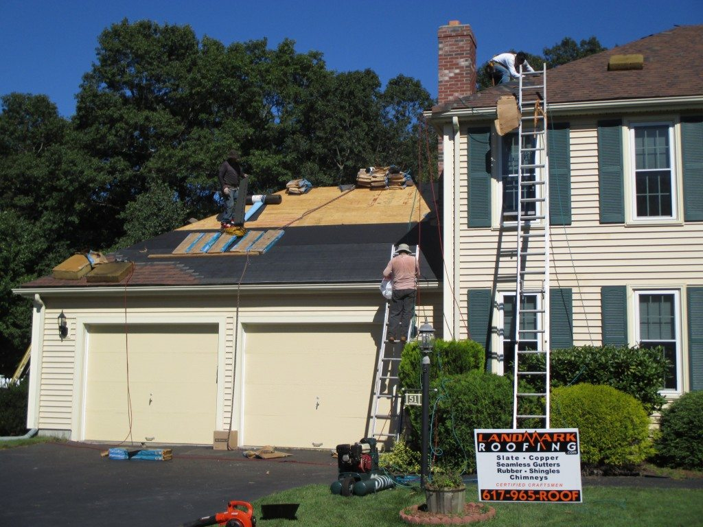 Preparing for Ventialtion and Chimney flashing roof work