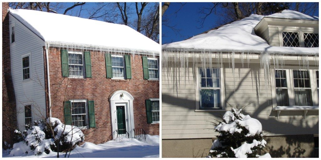 Ice dams -prevention and solutions